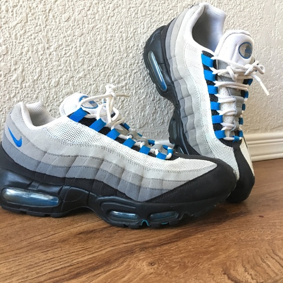 Nike Sportswear Air Max 95 WhiteBlue Spark | HYPEBEAST